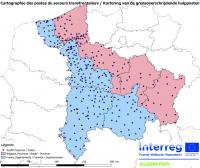 cartographie des postes de secours
