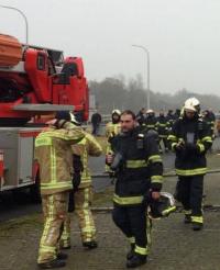 exercice pompier français et belges hensies