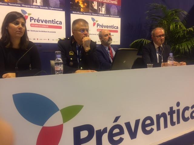 Acteurs de la coopération transfrontalière au salon PREVENTICA